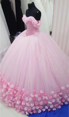 Image of baby-pink-wedding-dresses