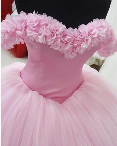 Image of baby-pink-quinceanera-dresses