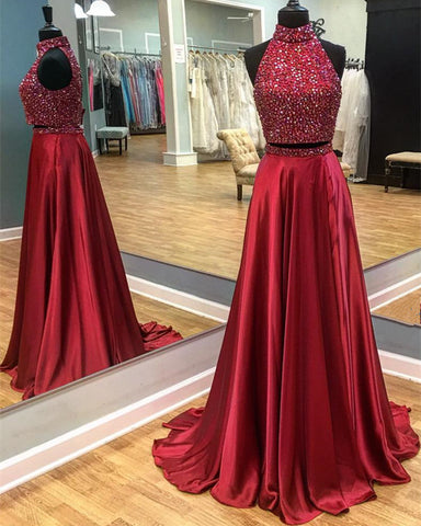 Image of 2 piece prom dresses
