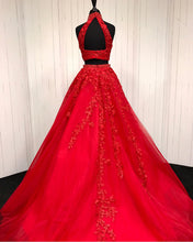 Load image into Gallery viewer, Quinceanera-Dresses-Red