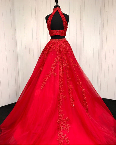 Image of Quinceanera-Dresses-Red