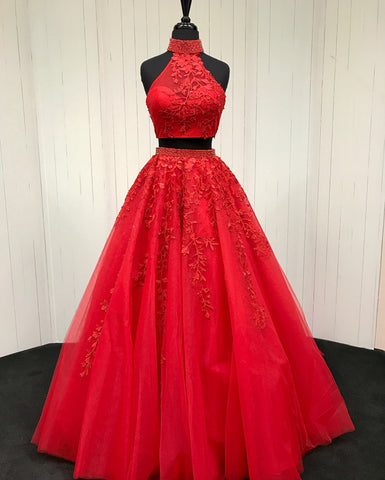 Image of Red-Ballgowns-Prom-Dresses