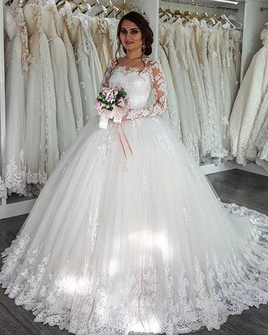 Image of vintage lace wedding dresses