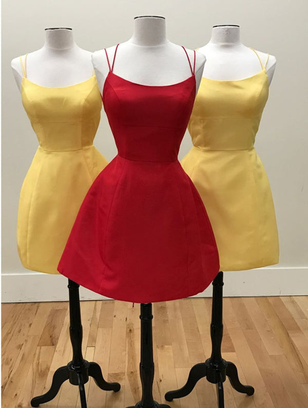 Sunny-Yellow-Prom-Mini-Dress-Satin-Cocktail-Dresses-For-Homecoming-Party