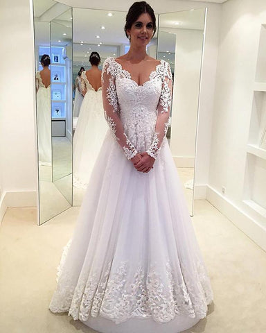 Image of Wedding-Dresses-A-line
