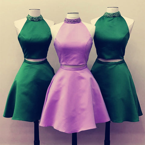 Image of Lilac-Homecoming-Dresses-Short-Prom-Dresses-2-Piece