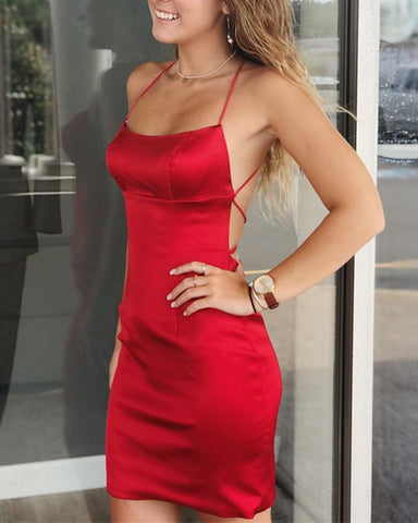 Image of Strapless Bodice Corset Sheath Homecoming Party Dresses