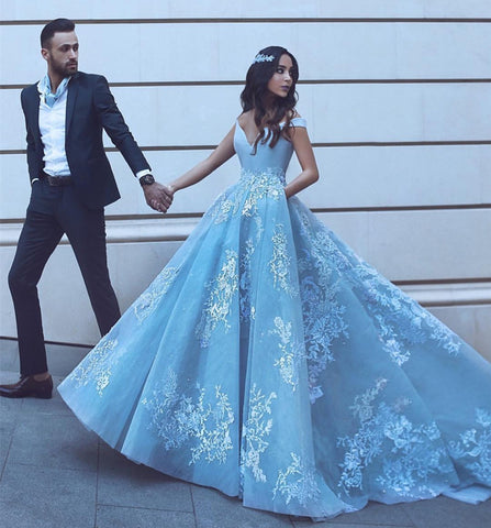 Image of baby-blue-prom-dresses