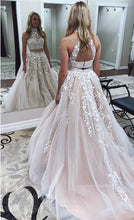 Afbeelding in Gallery-weergave laden, two-piece-prom-dresses
