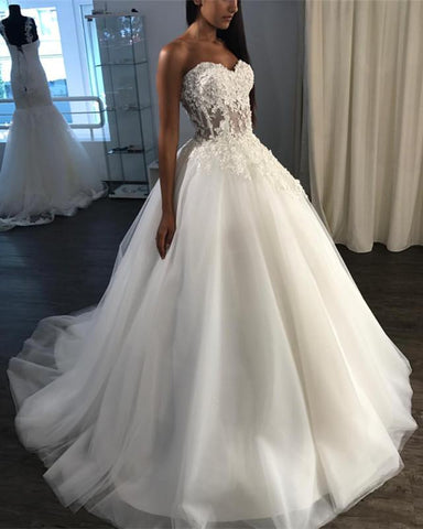 Image of sweetheart-wedding-ballgowns-dresses