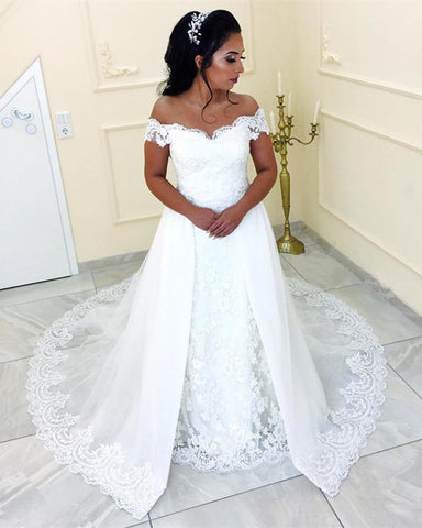 Image of Lace-Wedding-Gown