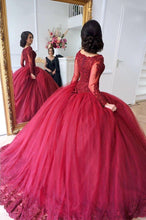 Afbeelding in Gallery-weergave laden, Burgundy-Wedding-Dresses