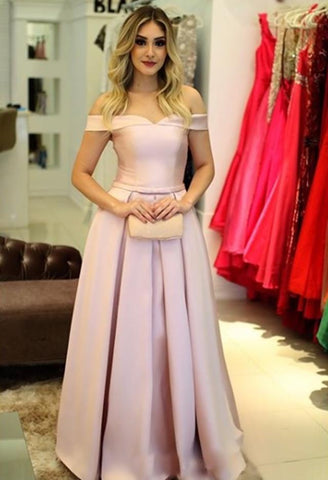 Image of Pink-Prom-Dresses