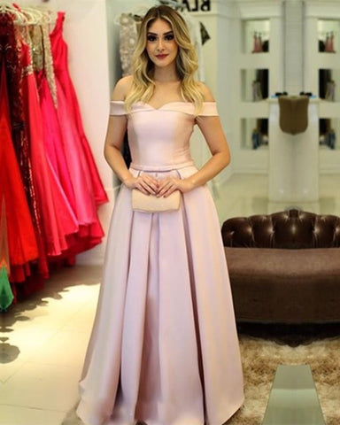 Image of Light-Pink-Bridesmaid-Dresses