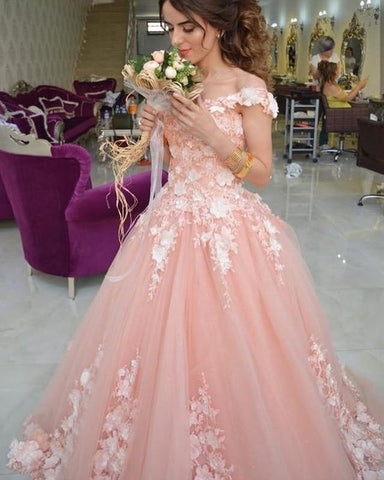 Image of Quinceañera-Dresses-Ball-Gowns-Sweet-16-Party