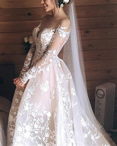 Image of Ball-Gown-Wedding-Dress