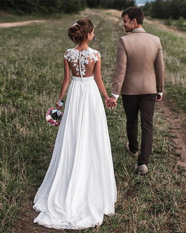 Image of Boho-Wedding-Dress