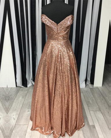 Image of Sequins-Prom-Dresses