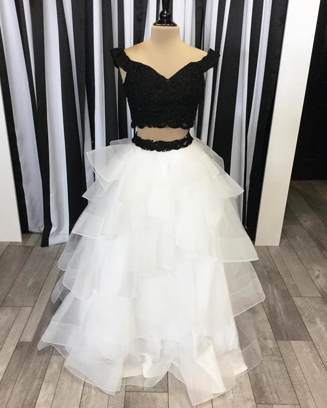 Two Piece Ballgowns Dresses