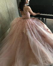 Load image into Gallery viewer, Blush-Prom-Dresses