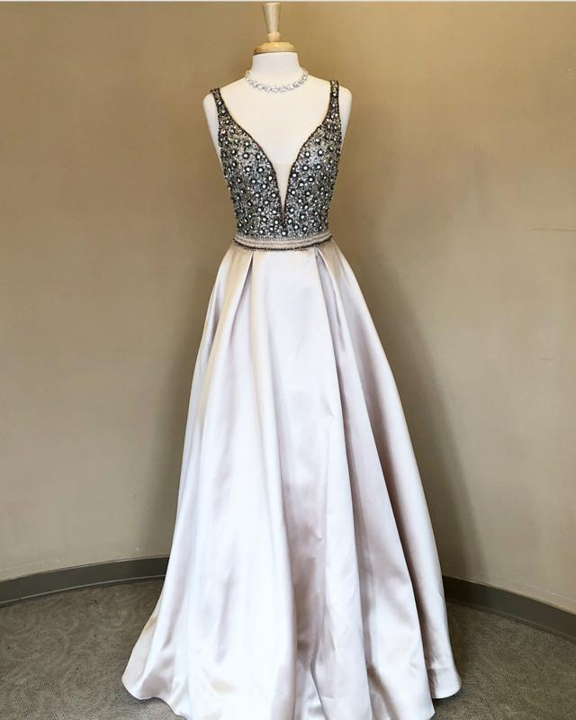 Silver-Prom-Dresses