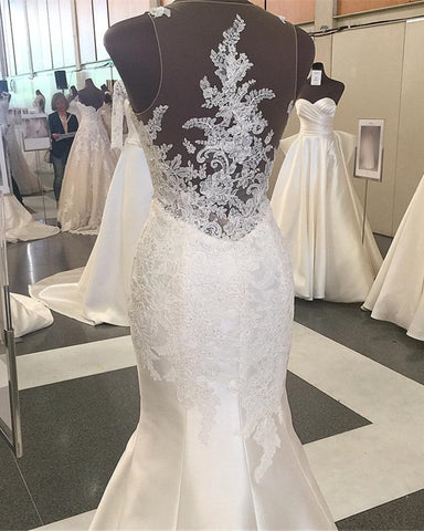 Image of Mermaid-Wedding-Gown