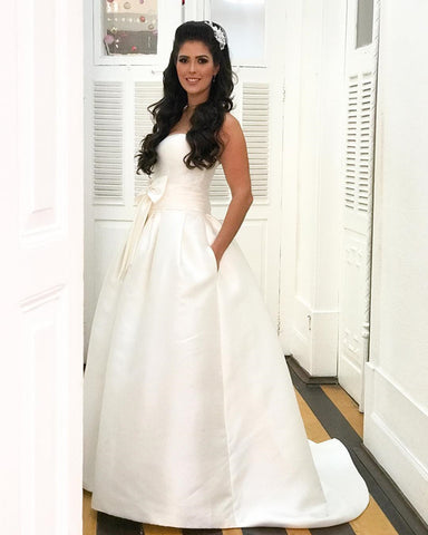 Image of Princess-Wedding-Dress-For Bride
