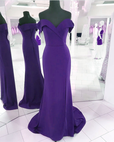 Image of Purple-Prom-Dresses