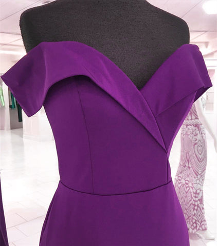Image of Grape-Prom-Dresses