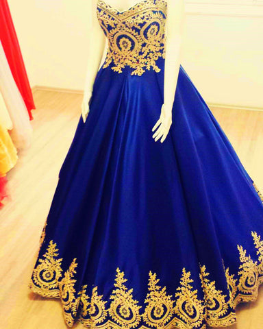 Image of quinceanera dresses blue