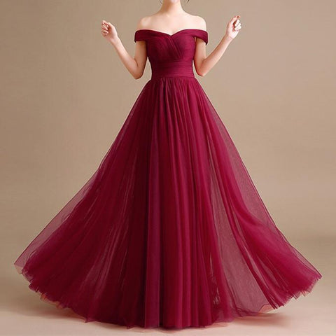 Image of tulle bridesmaid dresses