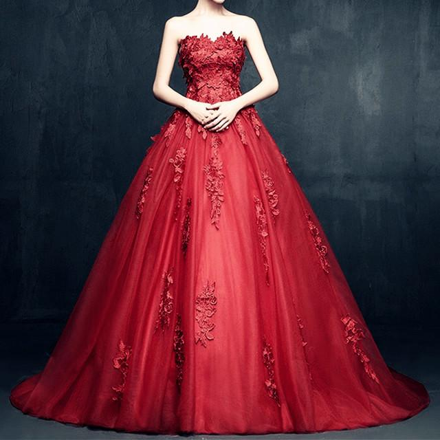 Elegant Floral Lace Sweetheart Tulle Ball Gown Dresses