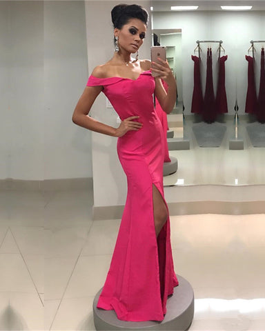 Image of Hot-Pink-Prom-Dresses