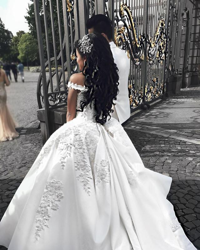 Puffy Wedding Gowns