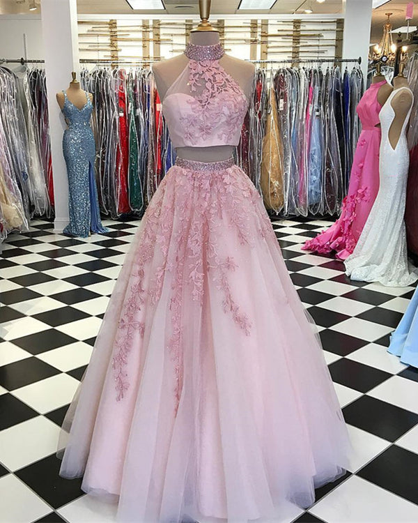 Two-Piece-Ball-Gown-Dresses