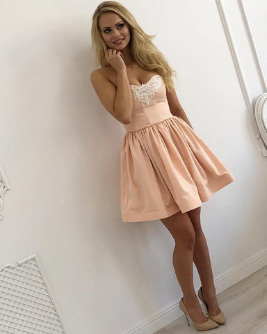 Image of Homecoming-Dresses-Pink