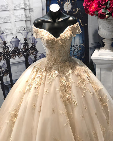 Image of Wedding-Dresses-Ball-Gowns