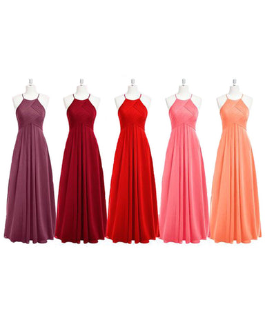 Image of Halter Bridesmaid Dresses