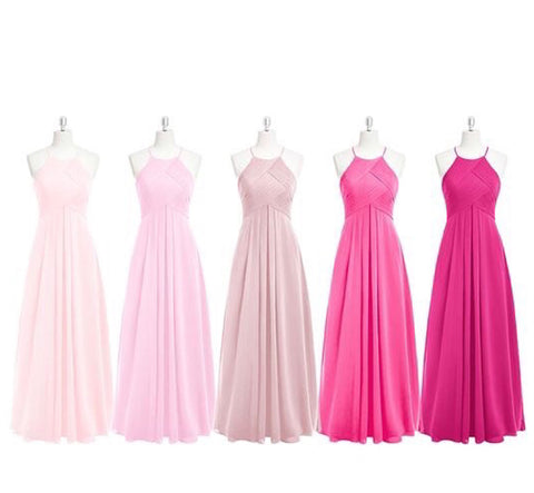 Image of Chiffon Bridesmaid Dresses