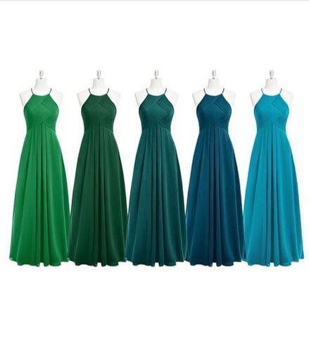 Image of Green Bridesmaid ideas