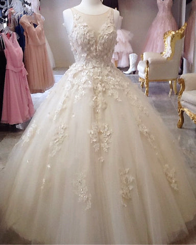 Image of Ivory Quinceanera Dresses