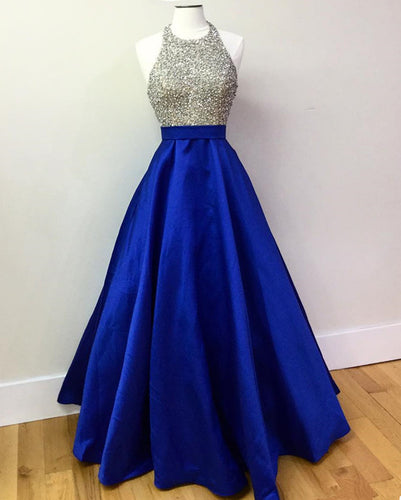 Royal-Blue-Evening-Dress