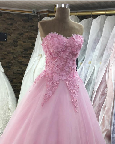 Image of Quinceanera-dress-blush