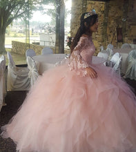 Afbeelding in Gallery-weergave laden, Pink-Dress-Quinceanera-Dress