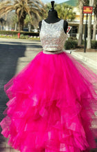 Afbeelding in Gallery-weergave laden, Sequin-Beaded-Prom-Dress
