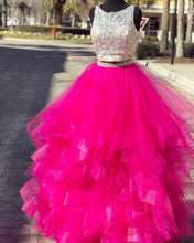 Afbeelding in Gallery-weergave laden, Prom-Dress-Hot-Pink