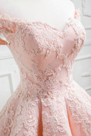 Image of Quinceanera-Dresses-Blush-Pink