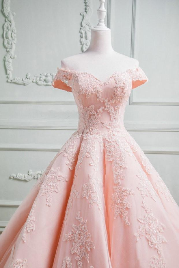Blush-Ball-Gown-Dresses