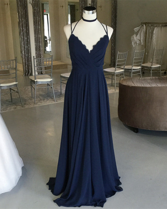 Dark-Blue-Bridesmaid-Dresses
