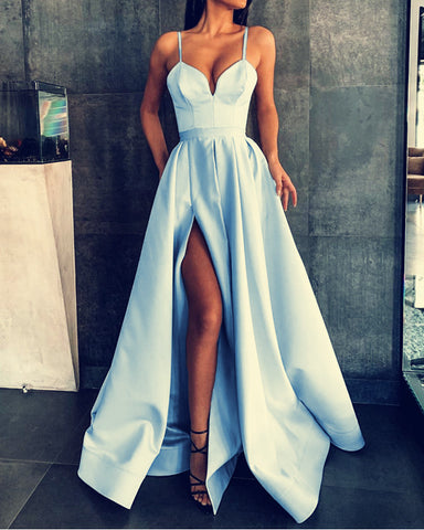 Image of Prom Dresses Light Blue